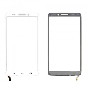 Display Assembly with Frame (White) For Motorola Droid Ultra XT1080