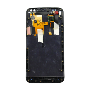 Display Assembly with Frame (Black) For Motorola Moto X Style