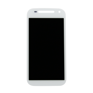 Display Assembly (LCD and Touch Screen) (White) For Motorola Moto E (3rd Gen)