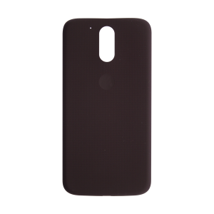 Rear Battery Cover - Dark Fig For Motorola Moto G4 and G4 Plus