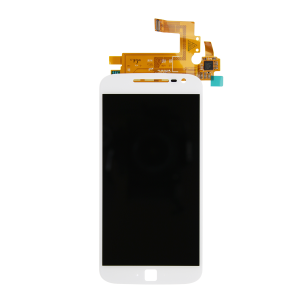 LCD Screen and Digitizer (White) For Motorola Moto G4