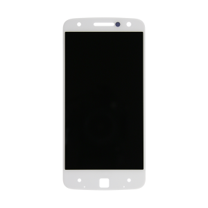 Display Assembly (White) For Motorola Moto Z Droid