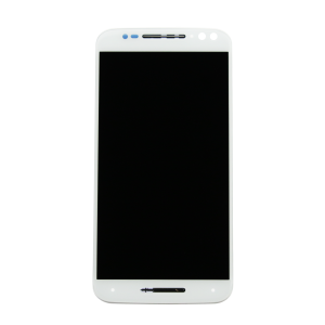 Display Assembly with Frame (White) For Motorola Moto X Style