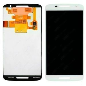 Display Assembly with Frame (White) For Motorola Moto X Pure