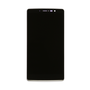 LCD and Digitizer/Front Panel with Frame (Black) For LG G Stylo