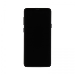 LCD Assembly With Frame (Black) For Samsung Galaxy S9 (Service Pack)