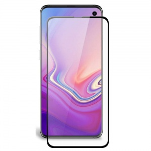 Tempered Glass Screen Protector For Samsung Galaxy S10e (Black)