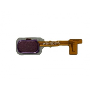 Fingerprint Reader With Flex Cable (Purple) For Samsung Galaxy J8 (2018)