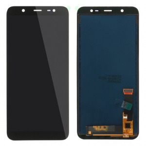 Display Assembly (Black) For Samsung Galaxy J8 (2018)(AFTERMARKET QUALITY)