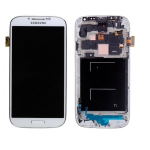LCD Assembly (OEM) (White) For Samsung Galaxy S4 GSM AT&T/T-Mobile M919/i337