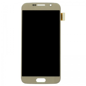 LCD Assembly For Samsung Galaxy S6 (Gold)