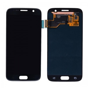 LCD Assembly (Black) For Samsung Galaxy S7 (Service Pack)