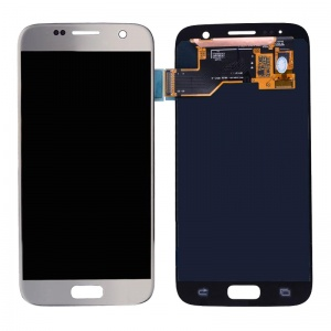 LCD Assembly (Silver) For Samsung Galaxy S7 (Service Pack)