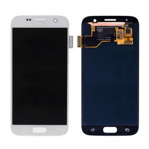 LCD Assembly (White) For Samsung Galaxy S7 (Service Pack)