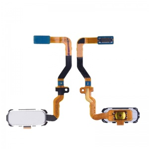 Home Button With Flex Cable For Samsung Galaxy S7 (White)