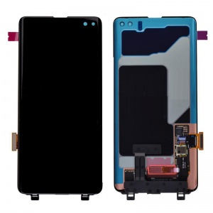 LCD Assembly With Digitizer Touch Panel for Samsung Galaxy S10 Plus - Black