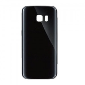 Back Glass For Samsung Galaxy S7 Edge (Black)