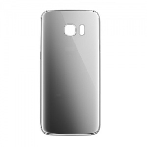 Back Glass For Samsung Galaxy S7 Edge (Silver)