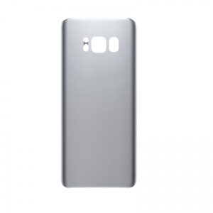 Back Glass For Samsung Galaxy S8 (Silver)