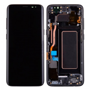 LCD Assembly With Frame For Samsung Galaxy S8 (Black)
