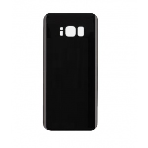 Back Glass For Samsung Galaxy S8 Plus (Black)