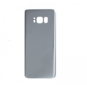 Back Glass For Samsung Galaxy S8 Plus (Silver)
