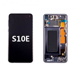 LCD Assembly with Frame for Samsung Galaxy S10e (Black)