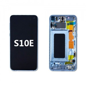 LCD Assembly with Frame for Samsung Galaxy S10e (Blue)