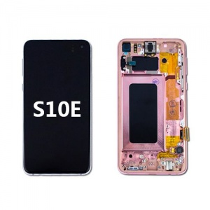 LCD Assembly with Frame for Samsung Galaxy S10e (Pink)