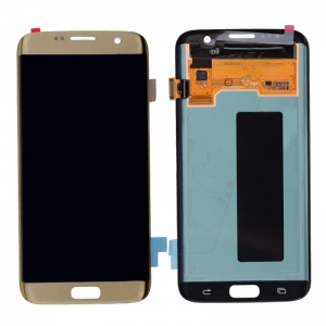 LCD Assembly For Samsung Galaxy S7 Edge (Gold)