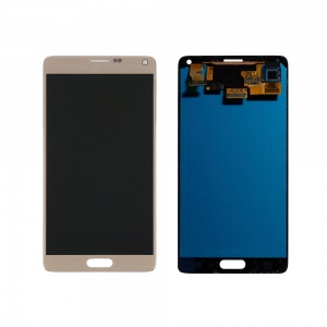 LCD with Digitizer (Gold) For Samsung Galaxy Note 4