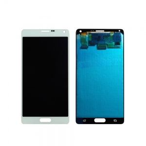 LCD with Digitizer (White) For Samsung Galaxy Note 4