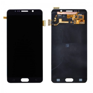 LCD with Digitizer (Black) For Samsung Galaxy Note 5 (Service Pack)