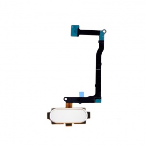 Home Button With Flex Cable (White) For Samsung Galaxy Note 5