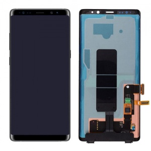 Display Assembly (Black) For Samsung Galaxy Note 8 (Service Pack)
