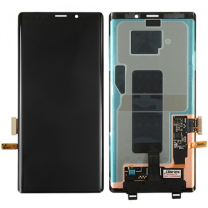 Display Assembly (Black) For Samsung Galaxy Note 9 (Service Pack)