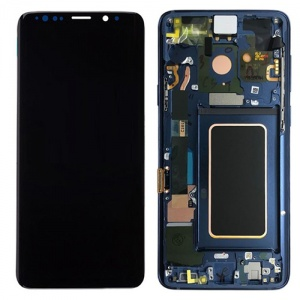 Screen Assembly with Frame (Ocean Blue) For Samsung Galaxy Note 9 (Service Pack)