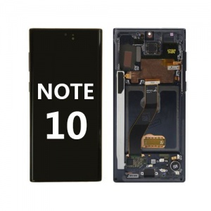 LCD Assembly with frame for Samsung Galaxy Note 10 (Black)