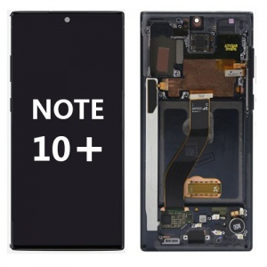 LCD Assembly with frame for Samsung Galaxy Note 10 Plus (Black)