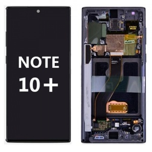 LCD Assembly with frame for Samsung Galaxy Note 10 Plus (Pink)