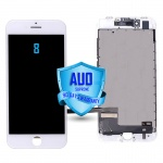 LCD Assembly For iPhone 8 (Supreme Quality Aftermarket, Made by AUO) (White)