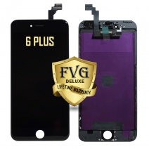 LCD Assembly For iPhone 6 Plus (Deluxe Quality Aftermarket, Made By FVG) (Black)