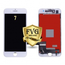 LCD Assembly For iPhone 7 (Deluxe Quality Aftermarket, Made By FVG) (White)