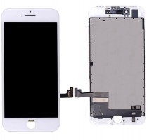 LCD Assembly (Supreme Quality Aftermarket, Made by AUO) (White) For iPhone 8