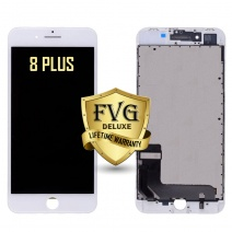 LCD Assembly For iPhone 8 Plus (Deluxe Quality Aftermarket, Made By FVG) (White)