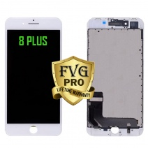 LCD Assembly For iPhone 8 Plus (Deluxe Quality Aftermarket, Made By FVG PRO) (White)
