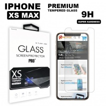 Tempered Glass - Clear For iPhone XS Max (6.5 inch) in Retail Package