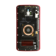 Midframe Assembly - Red For Motorola Droid Turbo 2
