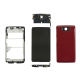 Housing Assembly with Small Parts - Red For Motorola Droid Ultra XT1080